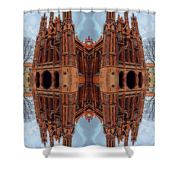 St. Anne's Church Art Shower Curtain by Yevgeni Kacnelson