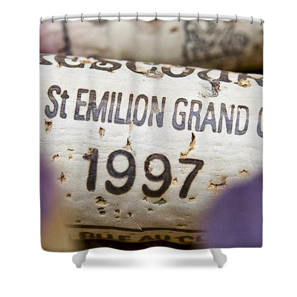 St Emilion Grand Cru Shower Curtain by Frank Tschakert