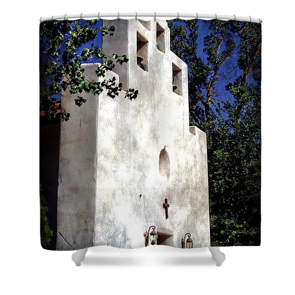 St. Francis De Paula Shower Curtain by Barbara Chichester