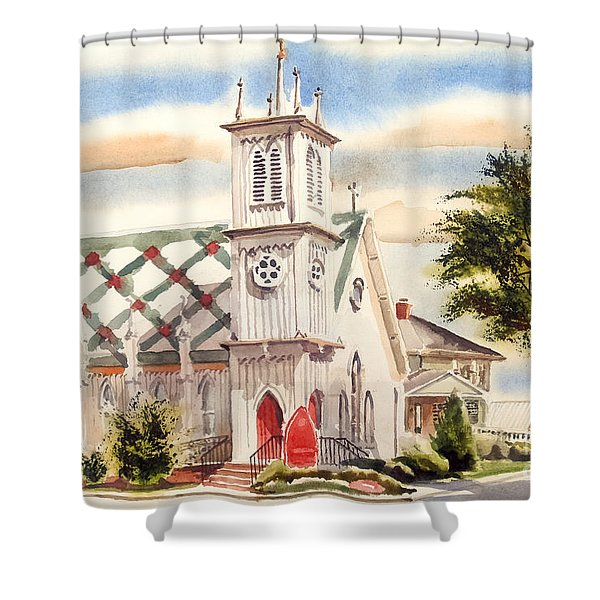 St. Pauls Episcopal Church II Shower Curtain by Kip DeVore