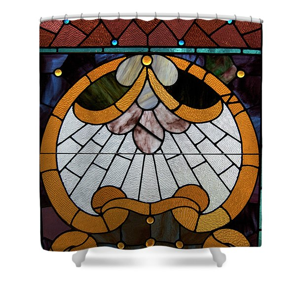 Stained Glass LC 09 Shower Curtain by Thomas Woolworth