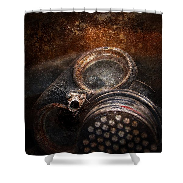 Steampunk - Doomsday  Shower Curtain by Mike Savad