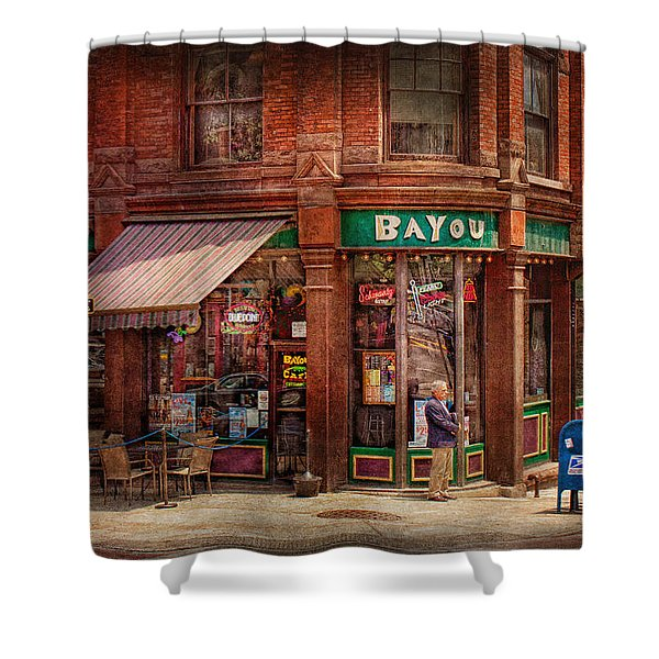 Store - Albany Ny -  The Bayou Shower Curtain by Mike Savad