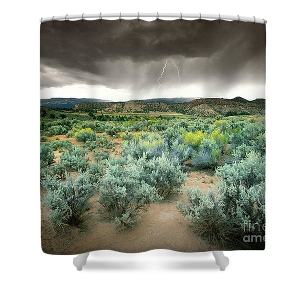 Storms Never Last Shower Curtain by Edmund Nagele