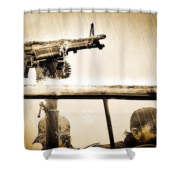 Strange Days Shower Curtain by Bob Orsillo