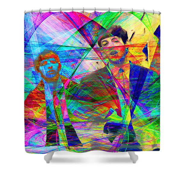 Strawberry Fields Forever 20130615 Shower Curtain by Wingsdomain Art and Photography