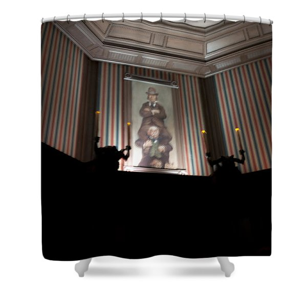 Stretched Shower Curtain by Ryan Crane
