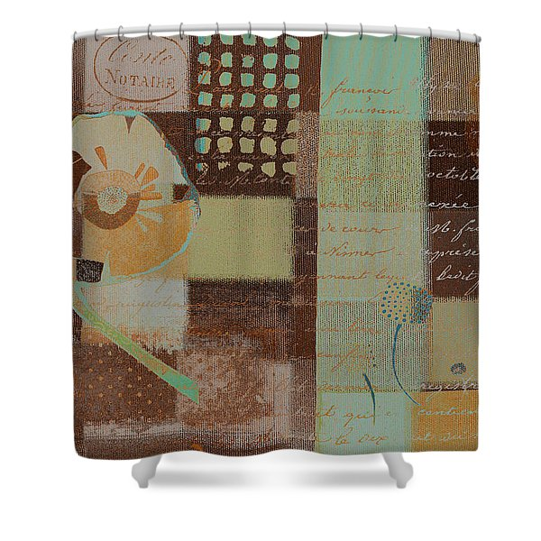 Summer 2014 - J088097112-brown01 Shower Curtain by Variance Collections