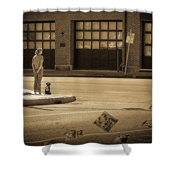 Summer Afternoon Shower Curtain by Bob Orsillo