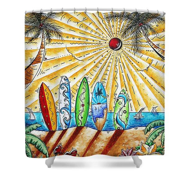 Summer Break by MADART Shower Curtain by Megan Duncanson