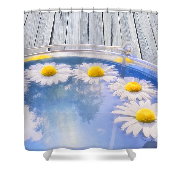 Summer Memories Shower Curtain by Veikko Suikkanen
