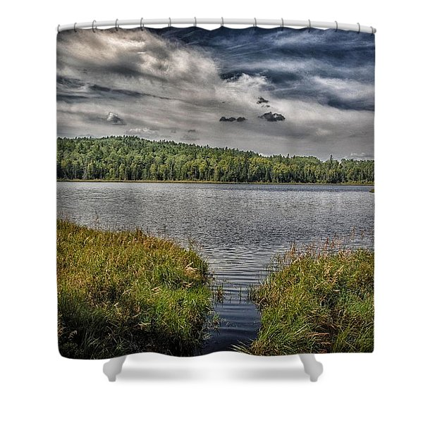 Summer Waters 2 Shower Curtain by Todd and candice Dailey
