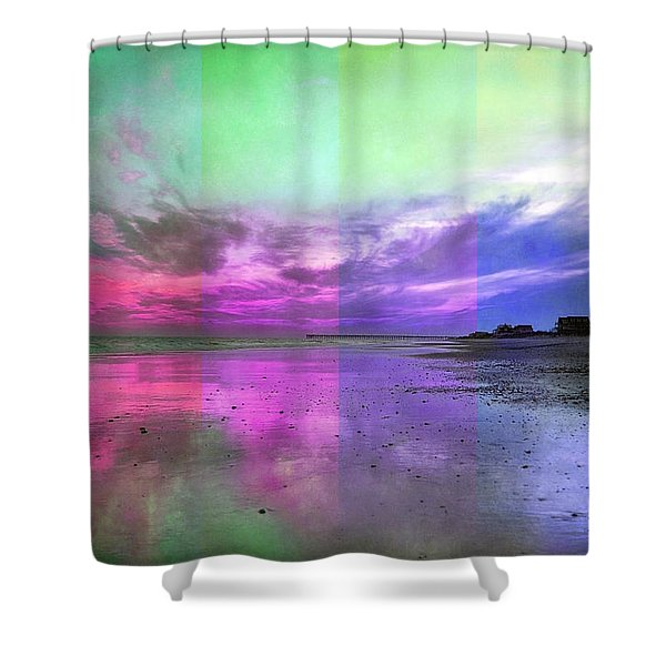 Sunset Spirits Shower Curtain by Betsy C  Knapp