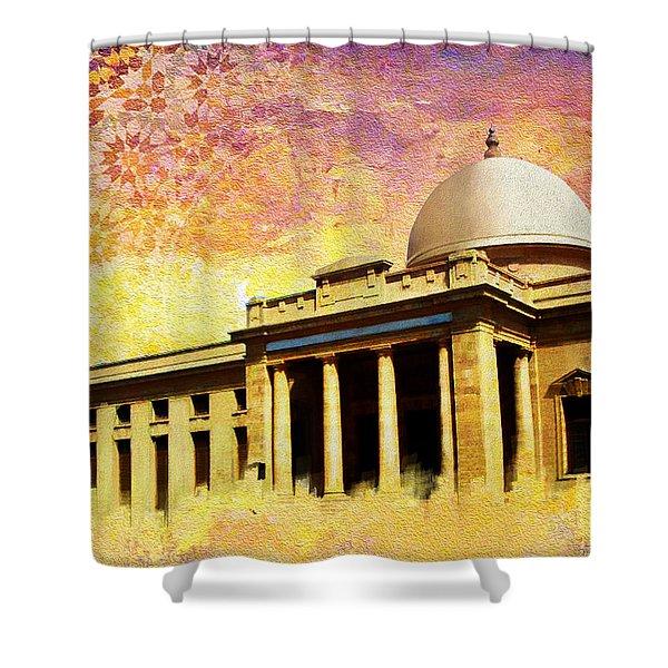 Supreme Court Karachi Shower Curtain by Catf