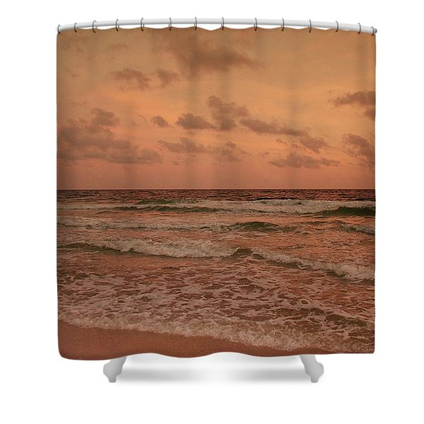 Surf - Florida Shower Curtain by Sandy Keeton