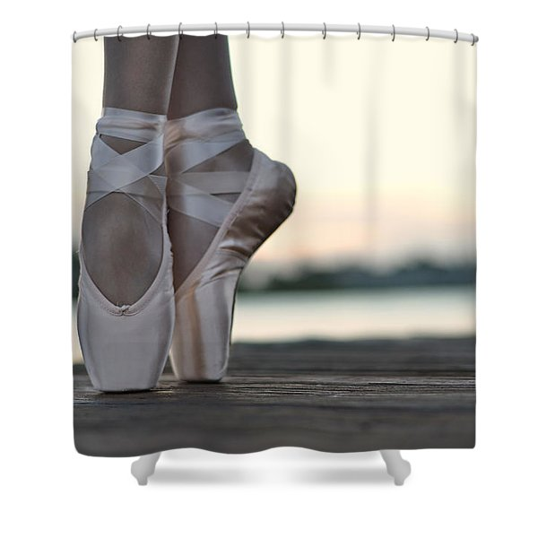 sylph Shower Curtain by Laura  Fasulo