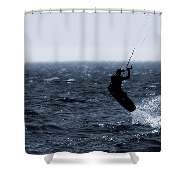 Take Off Shower Curtain by Dan Sproul