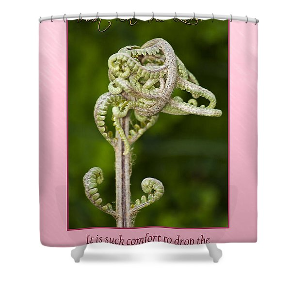 Tangles Shower Curtain by Carolyn Marshall