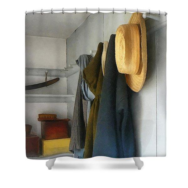 Teacher - Cloakroom Shower Curtain by Susan Savad