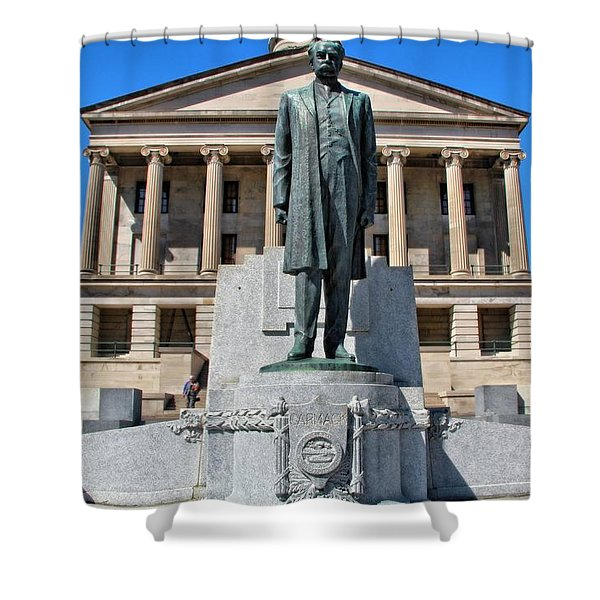 Tennessee Capitol Shower Curtain by Dan Sproul