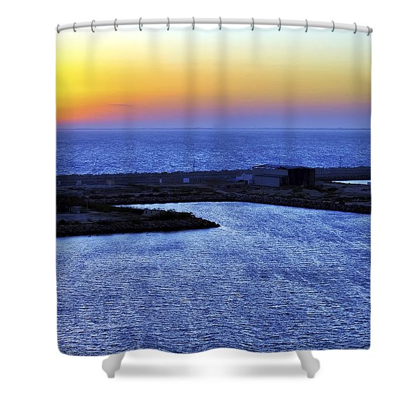 Tequila Sunrise Shower Curtain by Jason Politte