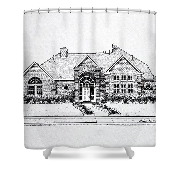 Texas Home 3 Shower Curtain by Hanne Lore Koehler