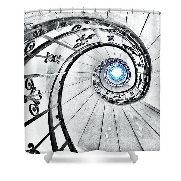 That Must Be Heaven... Shower Curtain by Marianna Mills
