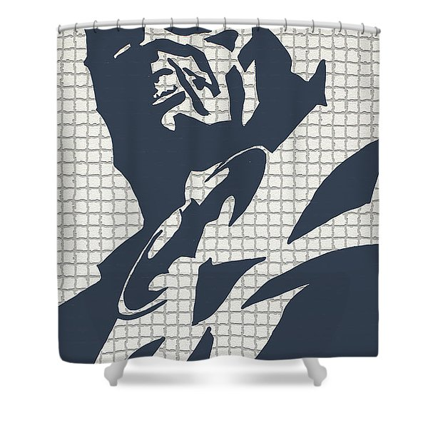 The Bat Call Shower Curtain by Robert Margetts