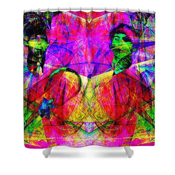 The Beatles 20130615 Shower Curtain by Wingsdomain Art and Photography