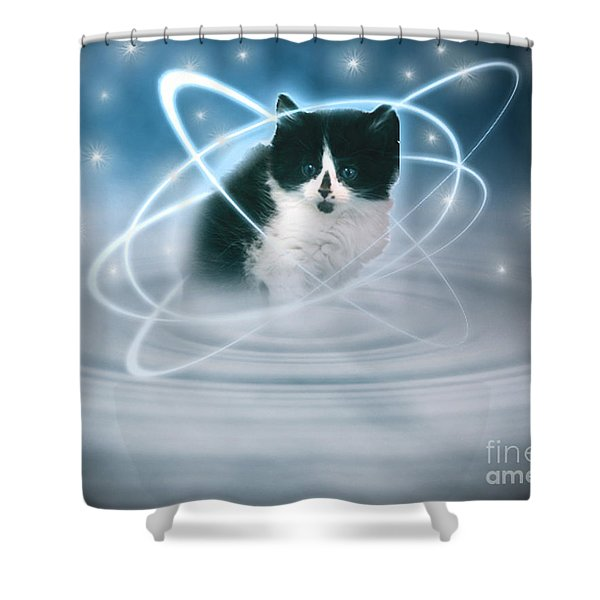 The Beautiful Ethel Shower Curtain by Terri  Waters