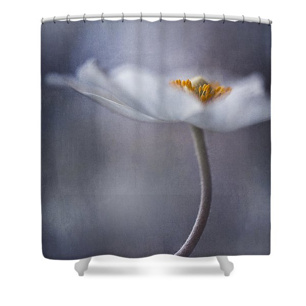 the beauty within Shower Curtain by Priska Wettstein