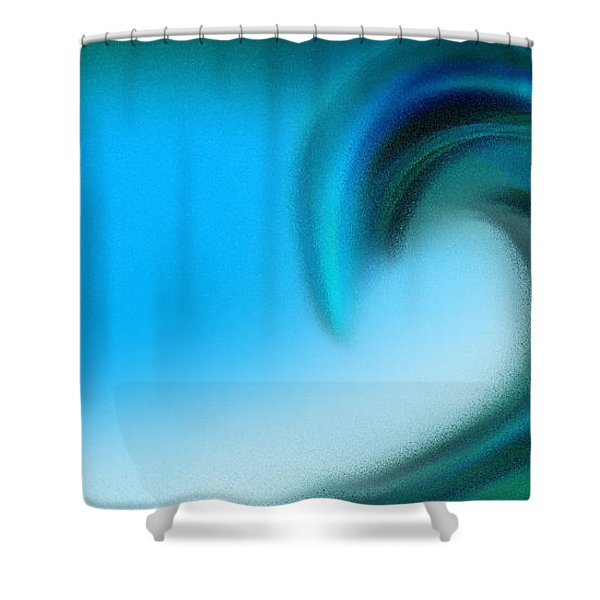 The Big Wave Of Hawaii 2 Shower Curtain by Andee Design