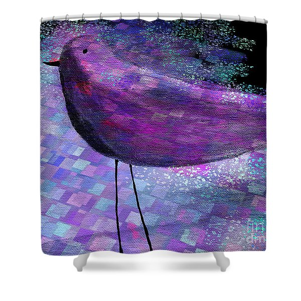 The Bird - S40b Shower Curtain by Variance Collections