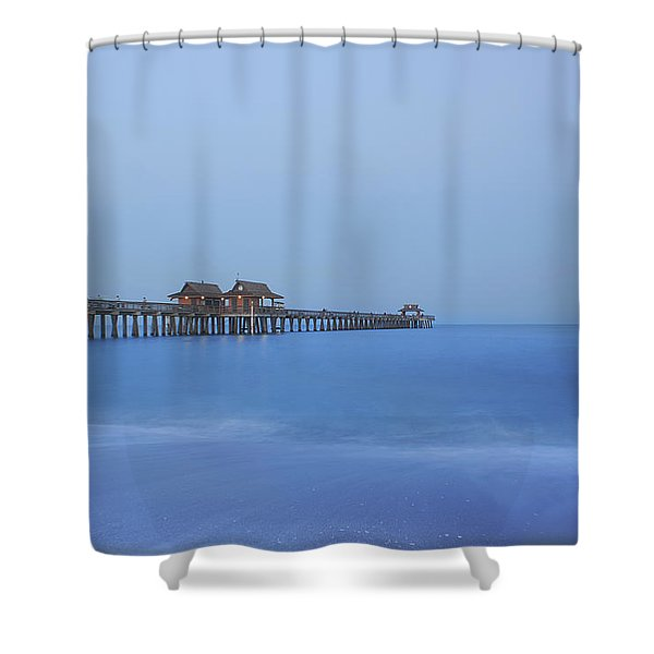 The Blue Hour Shower Curtain by Kim Hojnacki