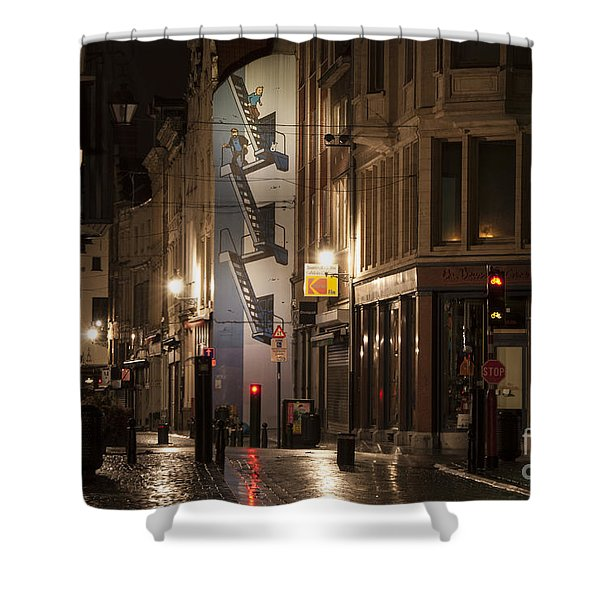 The Calculus Affair Shower Curtain by Juli Scalzi
