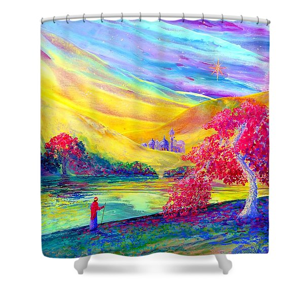 The Calling Shower Curtain by Jane Small