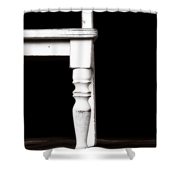 The Chair Shower Curtain by Edward Fielding