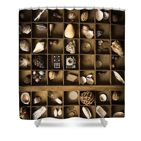 The Collection Shower Curtain by Edward Fielding