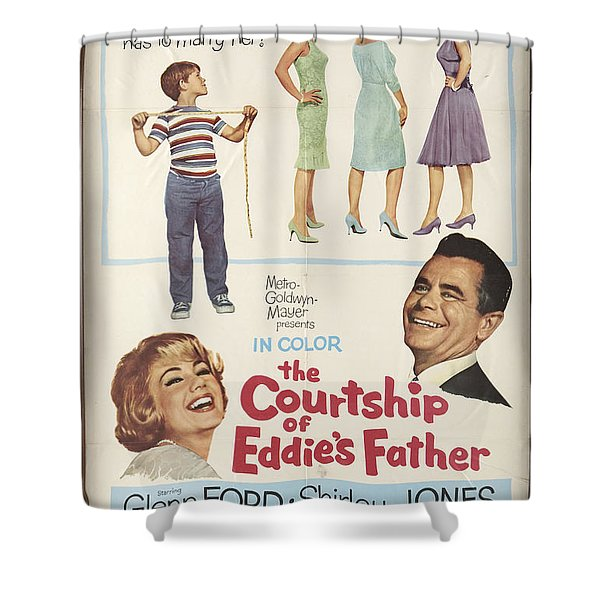 The Courtship Of Eddie's Father Shower Curtain by Mountain Dreams
