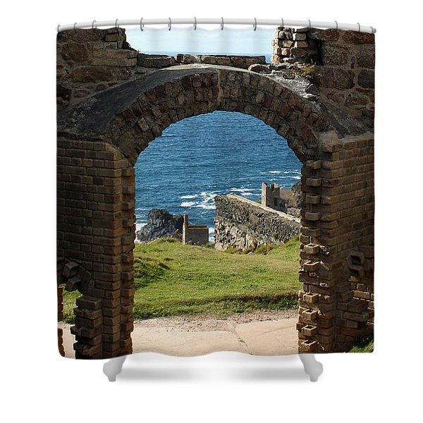 The Crowns of Cornwall Shower Curtain by Terri  Waters