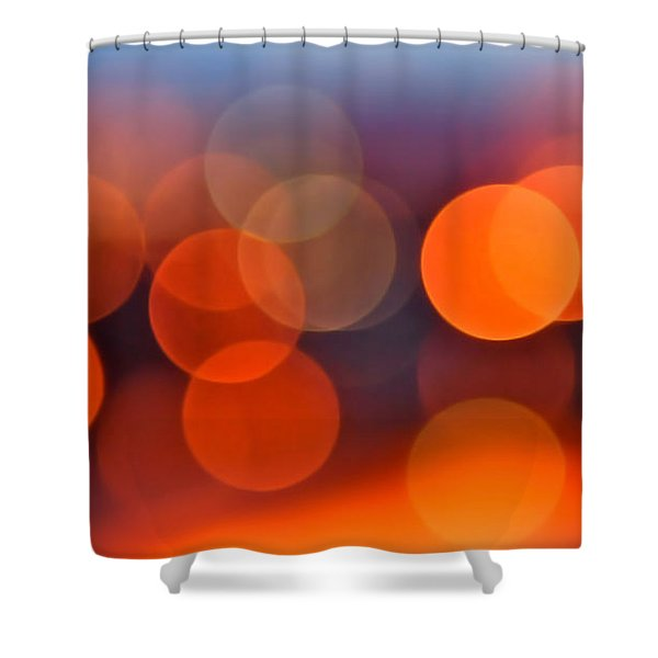 The Edge of Night Shower Curtain by Rona Black