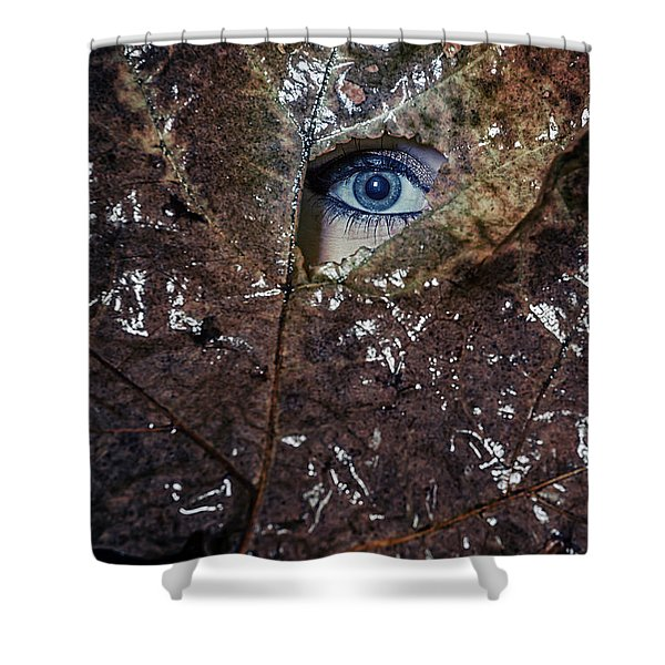 the eye Shower Curtain by Joana Kruse