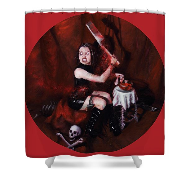 The Fearful Shower Curtain by Shelley Irish