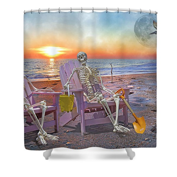 The Good Old Days Shower Curtain by Betsy C  Knapp