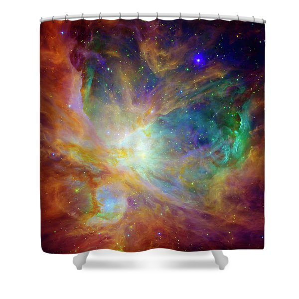 The Hatchery  Shower Curtain by The  Vault - Jennifer Rondinelli Reilly