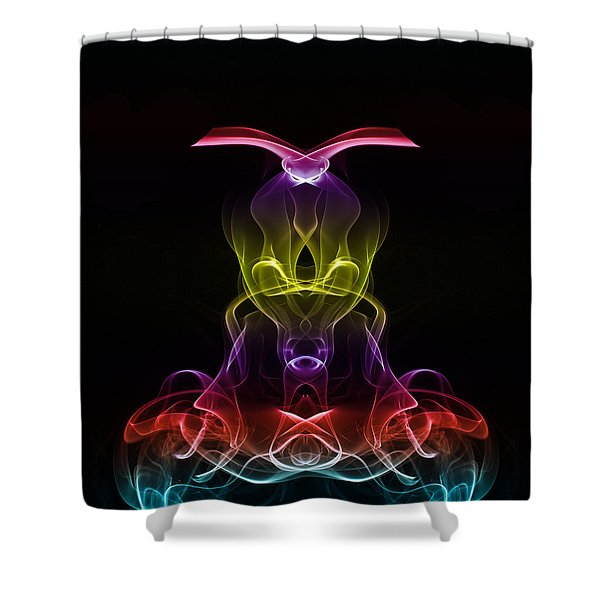 The Headmaster Shower Curtain by Steve Purnell
