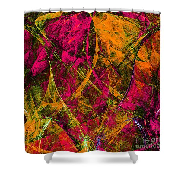 The Jester 20130510 square Shower Curtain by Wingsdomain Art and Photography