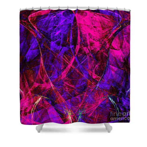 The Jester 20130510v2 Square Shower Curtain by Wingsdomain Art and Photography