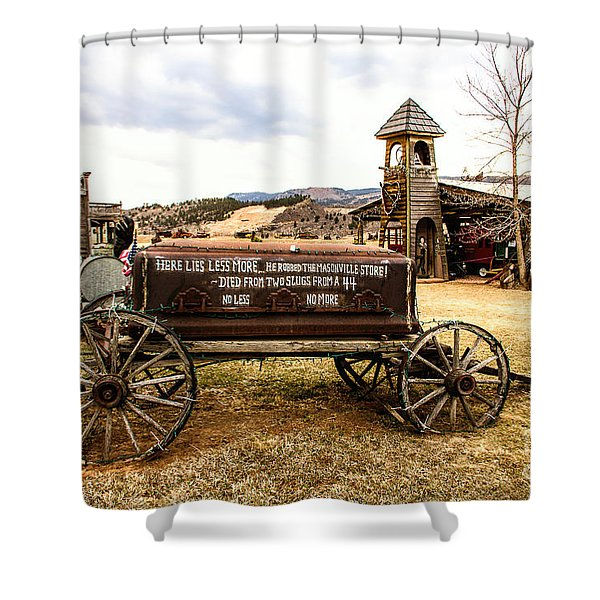 The Last Ride Shower Curtain by Jon Burch Photography