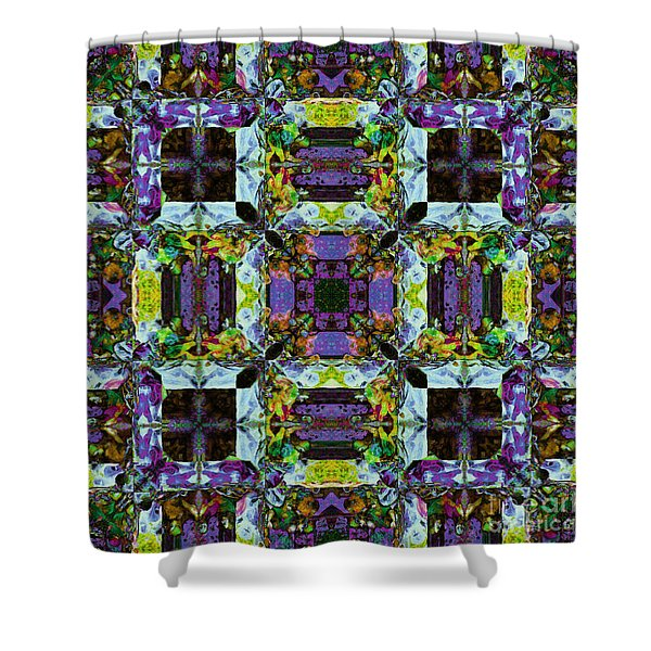 The Last Supper Abstract 20130130p40 Shower Curtain by Wingsdomain Art and Photography